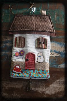 porta chave  patchwork