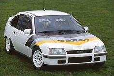 幻のグループSラリーカー「Opel Kadett Rallye 4x4」「Vauxhall Astra 4S」オペル・カデットとボクスホール・アストラの関係