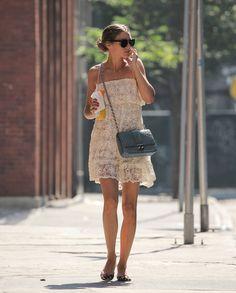 Olivia Palermo: 2 Looks, 2 Key Accessories / STYLEBISTRO