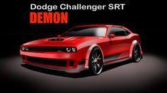 Dodge Challenger Demon - HOW to DRAW - desenho industrial