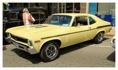 History & Popular Models of Chevrolet Cars – Best Worst Car Insurance Chevy Chevelle, Chevy Nova, Nova Car, Classic Chevrolet, Chevrolet Malibu, General Motors, Yellow Car, Sweet Cars, American Muscle Cars