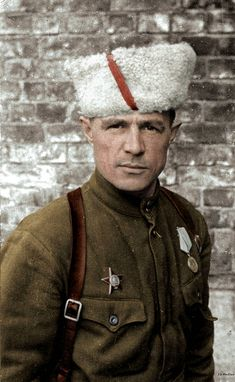 Hero of the Soviet Union Tarakanov Alexey Fedorovich - Commander of the Leningrad Partisan Brigade, Hero of the Soviet Union, 1944 Military Men, Military Uniforms, Soviet Army, The Big Four, Red Army, Photojournalism, World War Two, Ww2, Moscow Russia