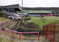 McCain Stadium - former home to the now defunct Scarborough FC - abandoned in 2007, demolished in 2011 - Scarborough, England