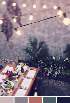 Achados da Bia | Inspiração do Dia | Outdoor Dinner