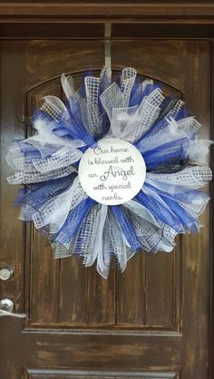Angelman Syndrome wreath