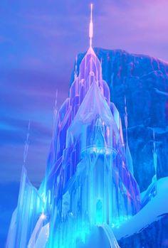 Elsa's castle (Frozen)