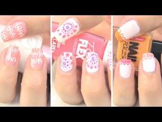 Diseños para uñas fáciles.