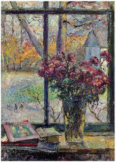 David burliuk | ... and still life flower paintings - David Burliuk (1882-1967) Flowers