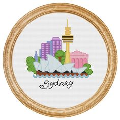 Cross Stitch - Sidney
