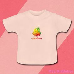 My Little Unicorn, Baby T Shirts, One Design, Bunt, Children, Kids, Onesies, Clothes, Fashion