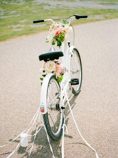 Feminine Floral-Filled Alabama Wedding Inspiration with a Getaway Bicycle – Davy Whitener 29 Wedding Exits, Wedding Reception, Our Wedding, Wedding Venues, Reception Ideas, Wedding Ideas, Best Gift Baskets, Bicycle Wedding, Southern Wedding Inspiration