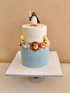 Cute Wild Animals Cake