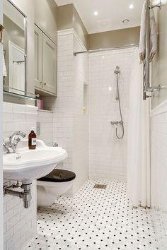 Single Apartment, Dream Apartment, Bathroom Inspo, Small Bathroom, Room Inspiration, Sweet Home, House Design, Interior Design, Home Decor