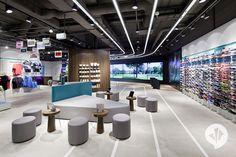 Sports Store | Retail Design | Shop Interior | Sports Display | Runners Point Storekonzept | danpearlman