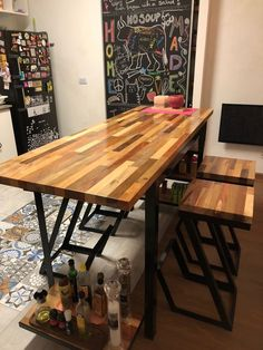 Metal Furniture, Home Office Furniture, Industrial Furniture, Diy Furniture, Industrial Bar Stools, Wood Bar Stools, Coffe Table, Dining Table, Reclaimed Wood Bars