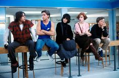 1. The Breakfast Club (1985) Forgetting about John Hughes' hugely influential teen angst life lesson isn't an option. The tale of 'the brain, the beauty, the jock, the rebel and the recluse' sums up everything wonderfully cinematic about being young and on-screen. Rest in peace, Mr Hughes. Words: Owen Nicholls