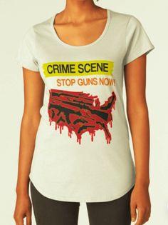 Crime scene - Stop guns now!