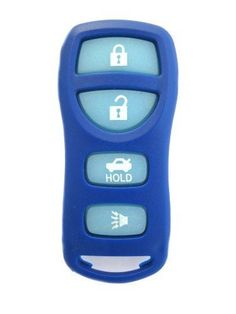 2002-2006 2002 2003 2004 2005 2006 02 03 04 05 06 NISSAN MAXIMA ***UNIQUE NAVY BLUE WITH GLOW IN THE DARK BUTTONS***4 BUTTON REMOTE FOB CLICKER KEYLESS ENTRY COMPLETE UNIT WITH FREE PROGRAMMING INSTRUCTIONS AND FREE DISCOUNT KEYLESS GUIDE by Nissan. $12.95. This listing is for the vehicles mentioned in our key product features list only. Your remote will arrive in a bubble pack mailer to ensure a safe trip while in the mail.  Also included is our Discount Keyl...