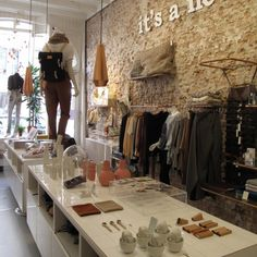 Beautiful store in Amsterdam, handmade products from young designers <3