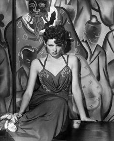 """Gene Tierney in, """"The Shanghai Gesture"""" """"1941)"""