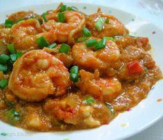 Peng's Kitchen: Sweet & Spicy Prawns