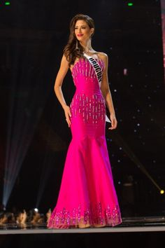 The evening gown competition is the most well-known area of competition in the pageant world. The evening gown phase brings imagines of contestants gliding across the stage in beautiful dresses exhibiting grace and poise.  Pink is a great color for younger contestants since it is fun, girly, and youthful. However, for older contestants, this can be a tricky one.  With a pink gown, there are many elements an older contestant has to take into account in order to successfully pull off the…
