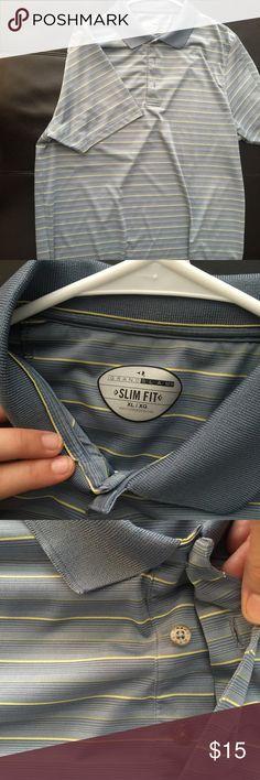 Grand slam slim fit dress shirt Men's office shirt grand slam Shirts Dress Shirts