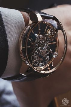 watchanish: Jacob & Co. Astronomia Tourbillon.
