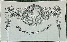 Vyšívané kuchařky   Chatař & Chalupář Crochet Wool, European Countries, Czech Republic, Folk, Embroidery, Knitting, Cotton, Scrappy Quilts, Tricot