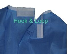 Surgical gown reinforced is a long loose piece of coats worn by surgeons during hospital surgery, ultra fabric used in the reinforced impermeable sleeves and chest area Piece Of Clothing, Different Fabrics, Woven Fabric, Hospital Gowns, Dental, Raincoat, Clothing, Teeth, Dentist Clinic