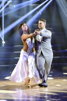 "Week 5  Jack Osbourne and Cheryl Burke dance Waltz to the song: ""Kissing You"" by Des'ree Judges' Scores: 9+9+9 = 27"