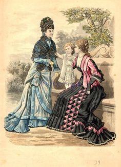 Fashion plate, 1879                                                                                                                                                                                 More