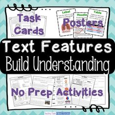 Ideas for nonfiction text features writing integration in upper elementary, including ways to encourage kids to include text features in their own writing.