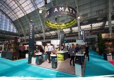 Stand of the Month Booth Design, 3d Design, Trade Show, Building Design, Live, Stand Design