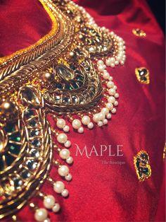 Brocade Blouse Designs, Pattu Saree Blouse Designs, Fancy Blouse Designs, Designer Blouse Patterns, Bridal Blouse Designs, Stone Work Blouse, Maggam Work Designs, Blouse Neck Designs, Diana
