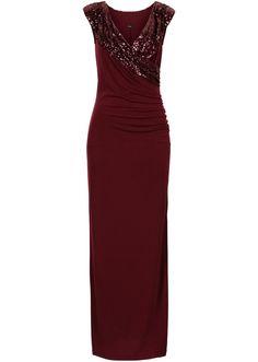5423bab6c49716 Maxi mermaid dress red
