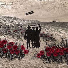 'To Dear Old Blighty' by Jacqueline Hurley War Poppy Collection WWI Centenary painting Lest We Forget Remembrance Day Armistice Day art painting Remembrance Day Pictures, Remembrance Day Activities, Remembrance Day Poppy, Ww1 Art, War Tattoo, Armistice Day, Anzac Day, Lest We Forget, World War One