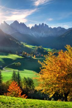 Awesome shot of our beautiful Dolomites!  _______ Tales of Dolomites by Alexander Kitsenko on 500px,italy