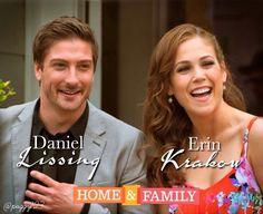 Daniel & Erin on Home & Family 6-11-2015
