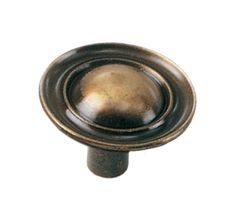 1 1/4'' Ambassador Knob - Antique Brass