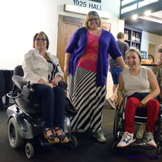 Me, Jessica, and Beth. Dressed to the nines for an evening with the Fab Four. http://spashionista.com/index/2014/7/13/its-been-a-hard-days-night  #CerebralPalsy #Beatles #Belcourt #Nashville