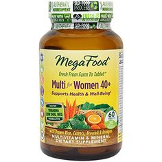 MegaFood  Multi for Women 40 A Balanced Whole Food Multivitamin 60 Tablets *** Read more reviews of the product by visiting the link on the image.