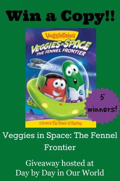 Veggies in Space: The Fennel Frontier #Giveaway  US only, ends 4/8/14