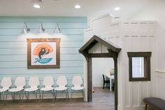 Pediatric Dentist office design, waiting room, pediatric dental office design