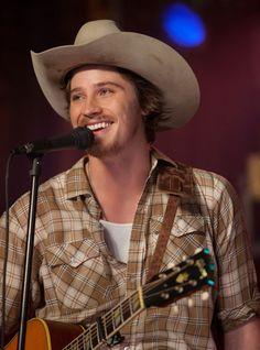 Garret Hedlund. Love him with the scruff and cowboy hat. :) *sigh*
