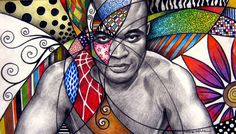 Love the work of Sandra p. This piece is entitled Anderson Silva High School Art, Middle School Art, Doodle Drawings, Doodle Art, Hidrocor, Art Assignments, Cuban Art, Doodles Zentangles, Cool Artwork