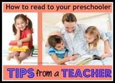 how to read to your preschooler