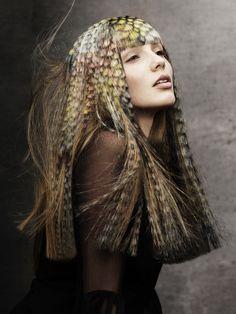 British Hairdressing Awards 2012, Nomination «Stylist of the Year» Winner   Hair: Angelo Seminara   Assistant: Edoardo Paludo   Makeup: Laura Dominique   Photo: Andrew Otmtoole   Style: Chloe Kerman   Products: Davines