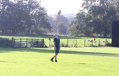 Rugby ball skills!