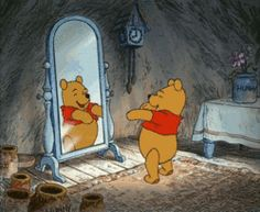 """Pooh Bear -  """"I am short, fat and proud of that ..."""""""